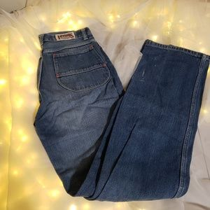True vintage foxtail Jeans high waisted.